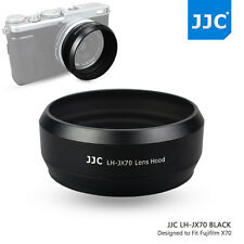 JJC Metal Lens Hood fr Fujifilm X70 X100S X100T With 49mm Adapter Ring as LH-X70