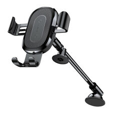 Baseus Qi Wireless Fast Charger Car Mount Holder for iPhone 8 Plus 10 X S8 Note8