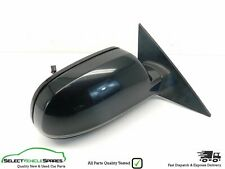 AUDI A3 8P CABRIOLET BLACK DRIVERS SIDE RIGHT DOOR WING MIRROR & INDICATOR 11-13