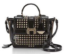 NWT Rebecca Minkoff Elle Mini Messenger Cross-Body Bag Black MSRP $395 AUTHENTIC