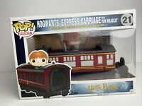 Funko POP! Rides Harry Potter #21 Hogwarts Express Carriage Ron Weasley Vaulted