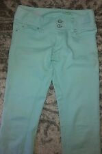 Lilly Pulitzer  worth straight baby blue turquoise jeans 00