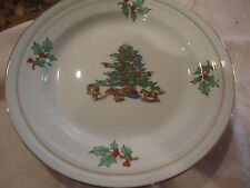 TIENSHAN HOLIDAY HOSTED 8 INCH SALAD PLATE/DESSERT PLATE