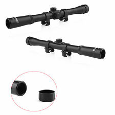 1 pcs Tactical 4x20 Air Rifle Gun Telescopic Scope Sights and Mounts Hunting