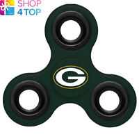 GREEN BAY PACKERS FIDGET SPINNER DIZTRACTO SPINNERZ NFL AMERICAN FOOTBALL NEW