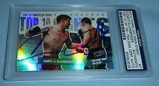 Carlos Condit & Jake Ellenberger Signed 2010 Topps Main Event Card 7 PSA/DNA UFC
