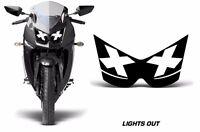 Headlight Eye Graphics Kit Decal Cover For Kawasaki Ninja 250R 2008-2012 LTS OUT