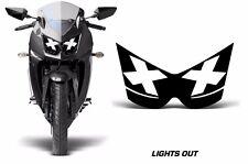 AMR Racing Head Light Eyes Kawasaki Ninja 250R 08-12 Street Bike Headlight L OUT