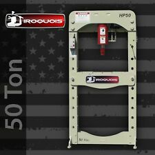 50 Ton Iroquois Electric Hydraulic Press Made in USA!