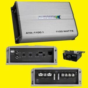 Autotek AYA1101  Alloy Monoblock Amplifier 1100W 2Ω