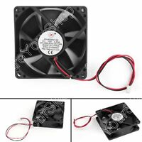 1x DC Brushless Ventilateur de Refroidissement 12V 8025s 80x80x25mm 0.2A 2 Pin