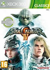 Soul Calibur IV 4 Xbox 360 Brand New Sealed Fast Shipping