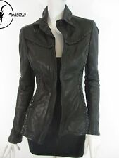 AllSaints Zip Hip Length Leather Coats & Jackets for Women