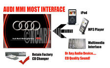 AUDI 2G MMI más iPod iPhone Aux In Audio Adaptador Interfaz A6 A8 Q7 A4 A5 Mmi