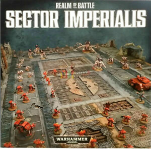 Warhammer 40k Sector Imperialis 6x4 Game Board New