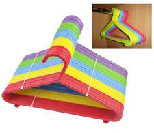 NUOVA confezione da 24 Multicolore in Plastica Appendiabiti per bambini baby bambino bambino