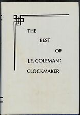 The Best of J.E. Coleman : Clockmaker / Jessie E. Coleman ; Orville Hagans, ed.