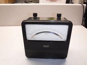 Sensitive Research Model N DC Amperes Meter