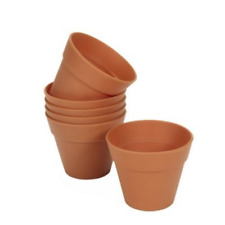 Lakeland Reusable Silicone Flowerpot Muffin & Cake Moulds x 6