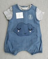 BNWTS NEXT Baby Girls Romper & Matching Bodysuit All In One Newborn 10lbs
