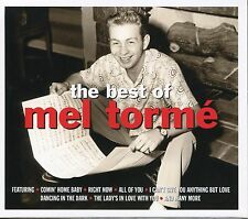 THE BEST OF MEL TORME - 2 CD BOX SET, RIGHT NOW, ALL OF YOU & MORE