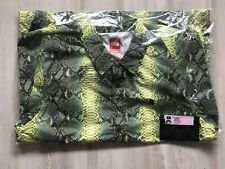 Supreme x The North Face TNF Snakeskin Coach Jacket Green Medium DS