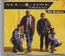 All 4 One-So Much In Love The Remixes cd maxi single 6 tracks