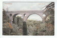 Pease Bridge Dunbar East Lothian Pre 1918 M Wane Edinburgh Old Postcard Unposted