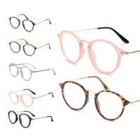 Optical Glasses Fashion Myopia Frame Retro Floral Vintage Clear Lens Eyeglasses