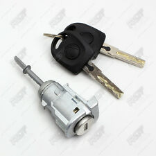 VW PASSAT / LUPO / SEAT AROSA DOOR LOCK SET 1 BARREL + 2 KEYS FRONT LEFT