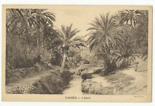 Tunisia - Gabès, L'Oasis - Vintage postcard
