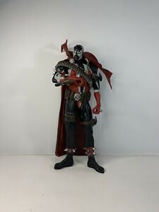 """Spawn 12"""" Deluxe Action Figure Statue McFarlane 2006 Issue 7 Cover Art Missing"""