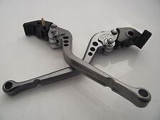 Ducati 848/EVO (2007-2013), CNC levers long titanium/chrome adjusters, F11/H11