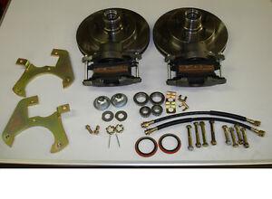 1940-1956 Oldsmobile front disc brake conversion 5 on 5 bolt pattern