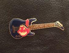 Cleveland Indians Guitar Pin ~ MLB ~ Baseball