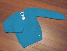 NWT Michael Kors Sweater Tile Blue in color size S