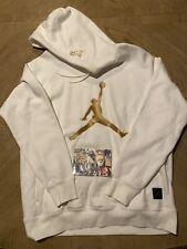 Jordan x OVO All-Star Collection Fleece Hoodie White Gold