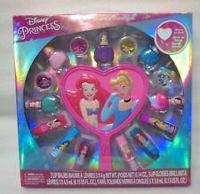 Disney Princess Toy Beauty Set Nail Polish Lip Gloss Mirror Girls Gift 16-Pack