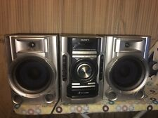 3 PIECE SONY HCD-EC55 STEREO SYSTEM CD AM/FM STEREO WITH 2 SPEAKERS