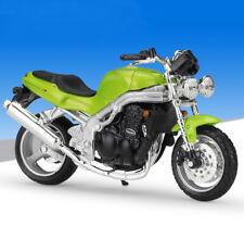 1:18 Maisto Triumph SPEED TRIPLE 955i Motorcycle Model Toy Green