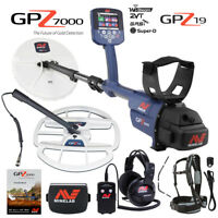 "Minelab GPZ 7000 All Terrain Gold Metal Detector with GPZ 19"" Search Coil"