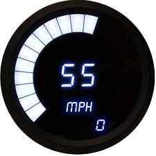Intellitronix Digital/Bargraph Speedometer/Tachometer Combo White w/Black Bezel