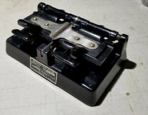 Vintage GRISWOLD R-2 35 MM Film Splicer Excellent Low Serial# FREE SHIPPING
