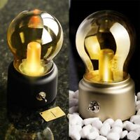 Vintage Retro LED Licht Lampe Nostalgie Glühbirne Birne Bulb Beleuchtung USB DE