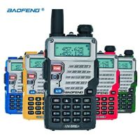 NEU BAOFENG UV-5RE 5W DUAL BAND VHF UHF 2M/70CM WALKIE TALKIE HAND FUNKGERÄTE DE
