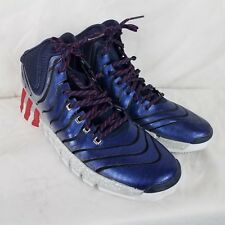 brand new 65d52 31ca8 Adidas Adipure Crazyquick 2 John Wall blue red gray Shoes Mens size 11  Sneakers