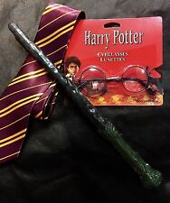 Unlicensed Harry Potter Costume Kit- Wand, Glasses and Tie FREE SHIPPING!
