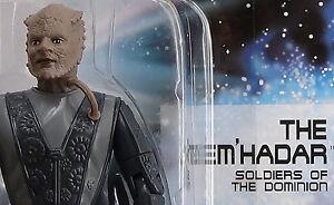 Jem'Hadar Dominion ShockTrooper Star Trek DS9 Playmates Figure1996 Gamma Quad