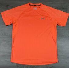 Underarmour Mens size Large Heatgear  Bright Oranged