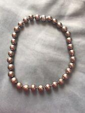 Perlenkette von Pierre Lang taupe Silber